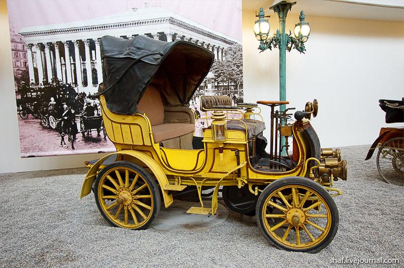 Автомузей; Национальный музей автомобилей, Мюлуз (Mulhouse), Франция; De Dietrich Grand Duc, 1898